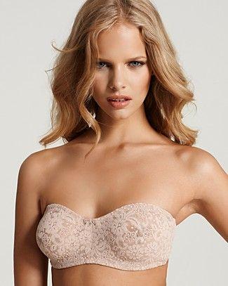 Wacoal Strapless Bra - Halo #65449 | Bloomingdale's | lingerie ...