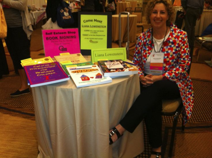 Thanks to the Self-Esteem Shop for hosting a  book signing at the Play Therapy Conference in Palm Springs, October 10, 2013