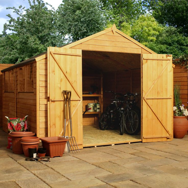 winchester 10ft x 10ft overlap apex workshop next day delivery winchester 10ft x 10ft overlap - Garden Sheds Quick Delivery