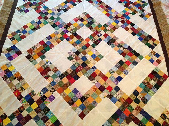 Charlotte's Quilts - super scrappy = LOVE!