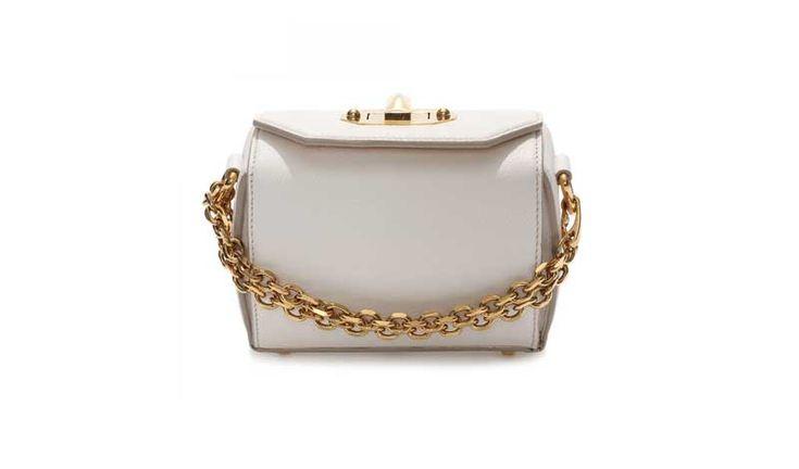 Editor's Pick: Alexander McQueen Box Bag 16 - Daily Front Row https://fashionweekdaily.com/alexander-mcqueen-box-bag/