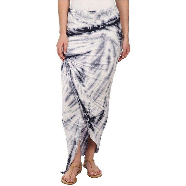 Young Fabulous & Broke Sassy Skirt Women's Skirt, White ($62) ❤ liked on Polyvore featuring skirts, white, maxi skirt, elastic waist skirt, ankle length white skirt, floor length white skirt and long skirts