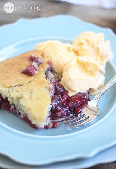 This Triple Berry Cobbler is the perfect summertime treat. My family loves it, and even my pickiest sons can't tell that it's gluten free!