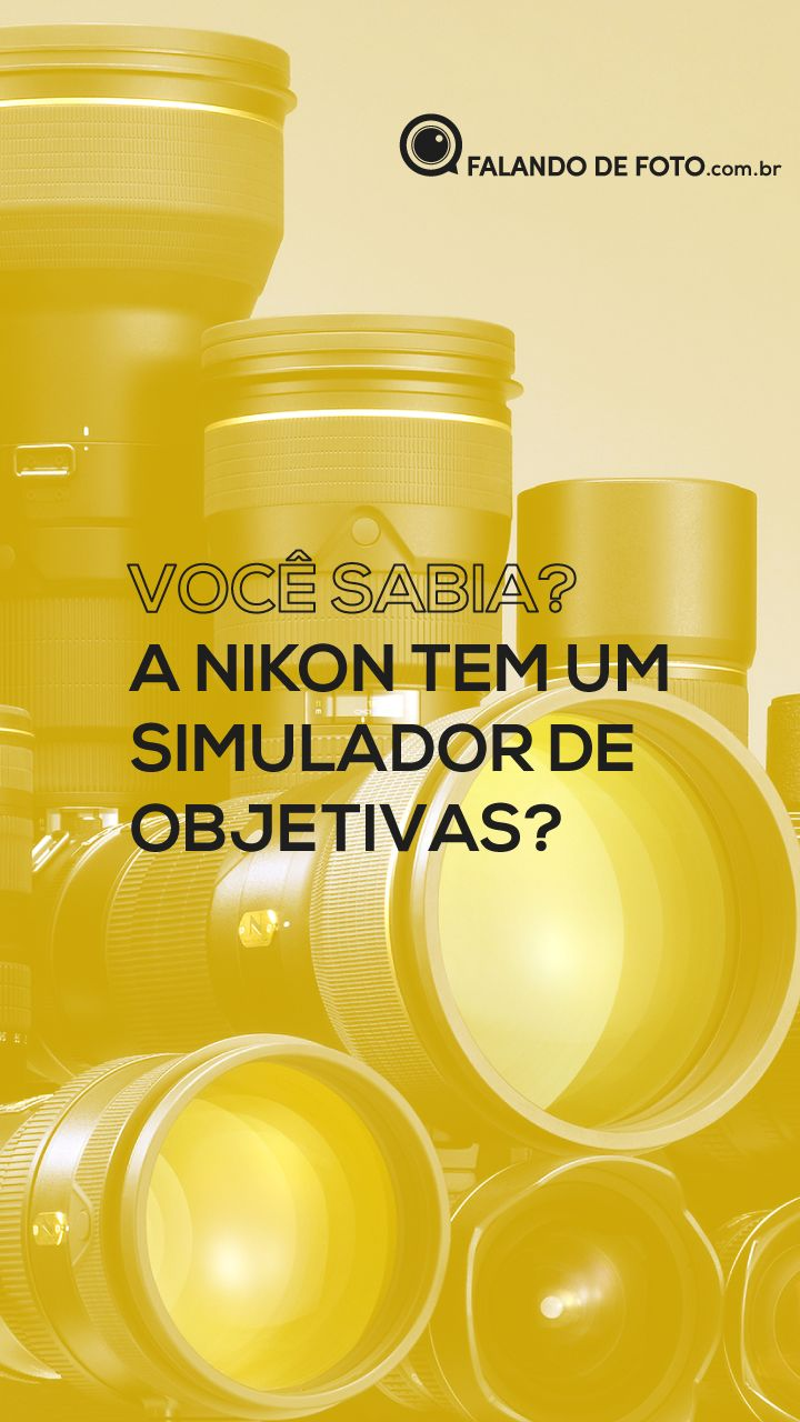 Lentes Nikon simulador oficial
