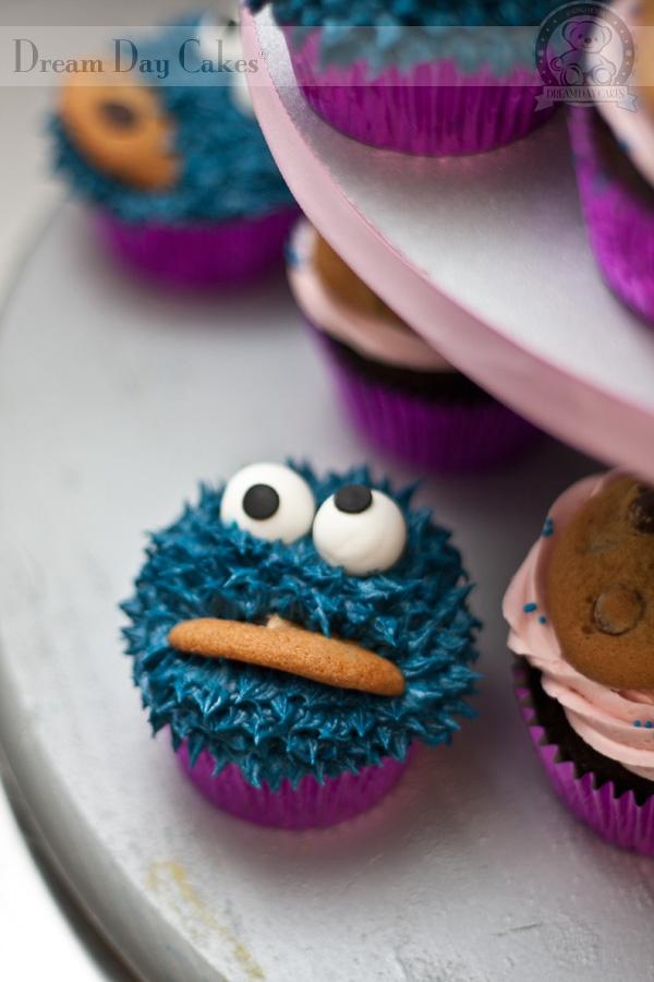 Cookie Monster birthday theme