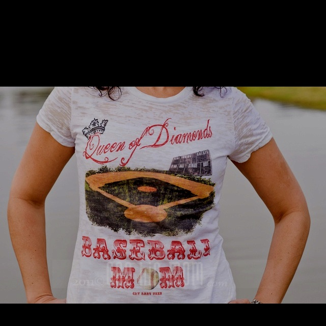 Baseball mom t-shirt- love it