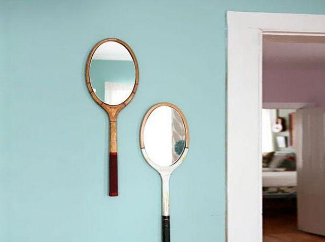 DIY : raquettes miroirs