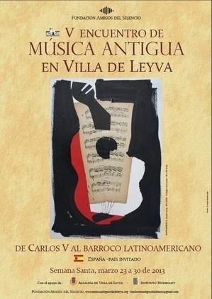 Saludos a todos nuestros amigos, les invito a disfrutar del V Encuentro de Musica Antigua en Villa de Leyva ;-)