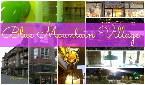 Blue Mountain Village Collingwood Ontario