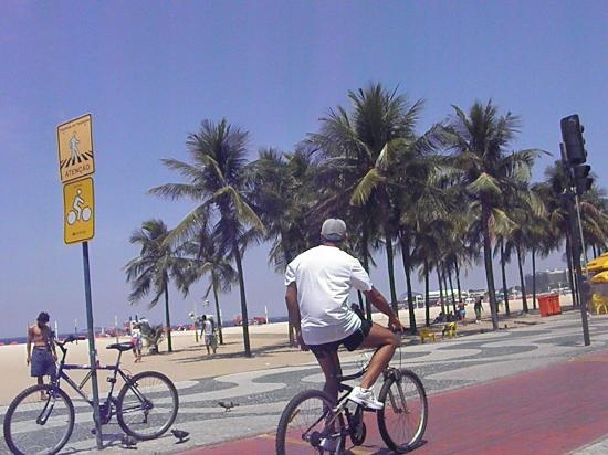 Copacabana Beach:  For sunning, relaxing and people watching, join the thousands who flock each year to this lively, world-famous beach lined with shops, bars, restaurants and hotels.