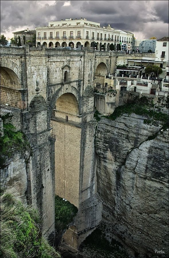 In beautiful Ronda, Malaga, Spain.