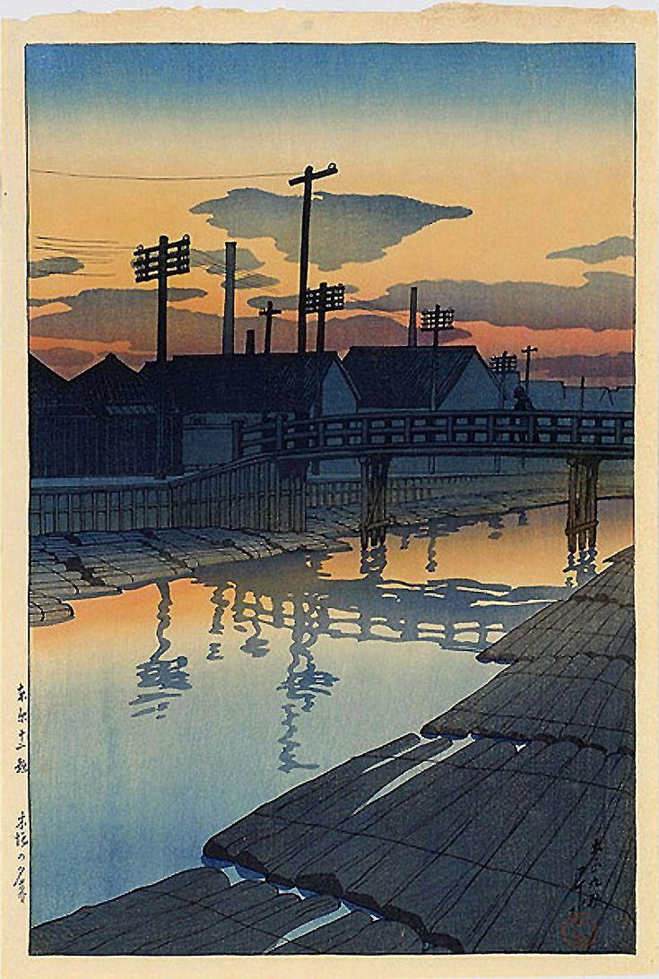 画像 : 【近世の浮世絵師・新版画家】川瀬巴水の作品 - NAVER まとめ Kawase Hasui