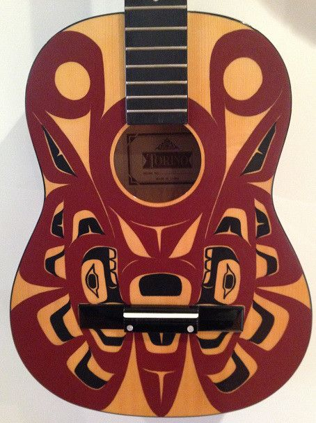 Butterfly Guitar by Sanford Williams