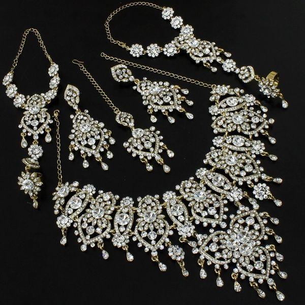beautiful indian wedding jewelry set. American style