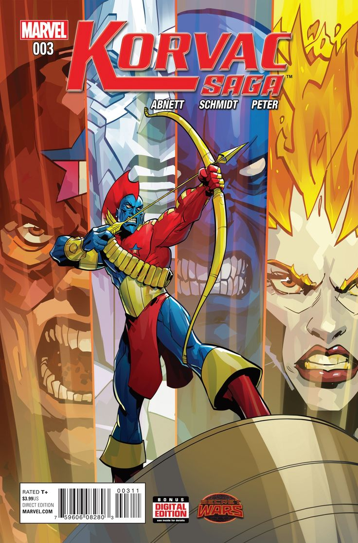 Yondu Of The Guardians Of The Galaxy: Korvac Saga #3, Cover: Otto