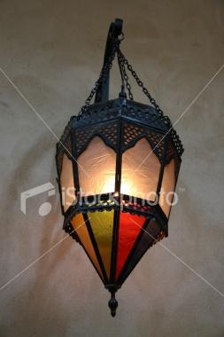 Colored Lantern Royalty Free Stock Photo