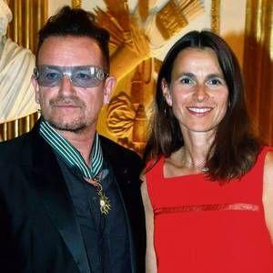 PRIDE: Aurelie Filippetti gave Bono the prestigious award