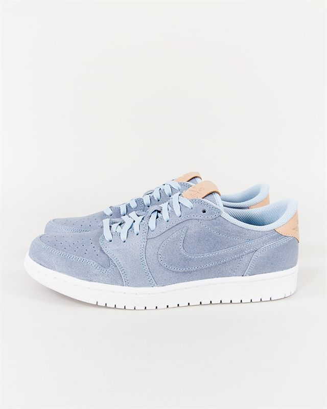 Nike Air Jordan 1 Retro Low OG Prem - 905136-402 - Ice Blue/Vachetta Tan-White