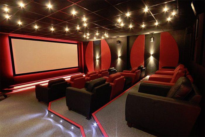"Pinewood ""Red Digital"" Studios cinema room."