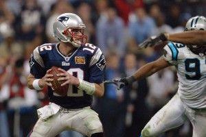 Super Bowl XXXVIII – Patriots vs Panthers #SuperBowl #NFL #football #TomBrady #Patriots #PatriotsNation #CarolinaPanthers