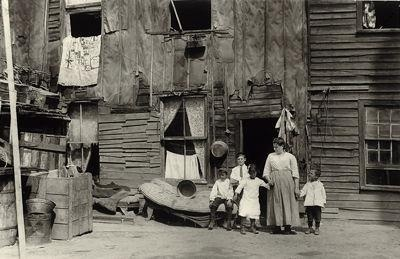 Toronto Downtown 1913 - Slum Dwellings