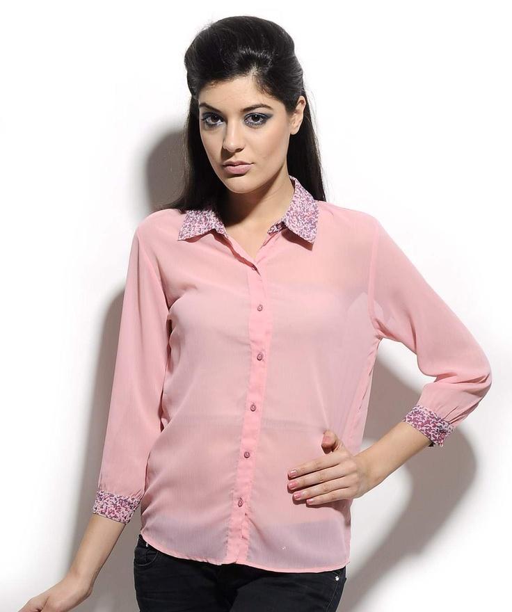 http://www.mydesignersales.com/designers-2/corsage/pink-shirt-by-corsage-943.html  #Chiffonshirt