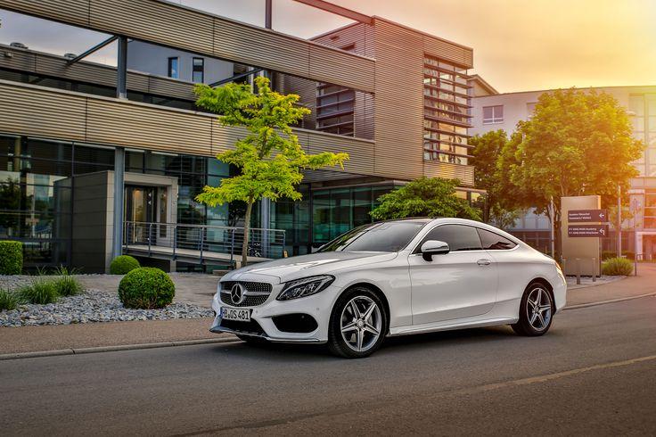 Elegant and sensual design - That's the Mercedes-Benz C-Class Coupé.  Photo by Ralf Schick (www.ralfschick.com) for #MBsocialcar