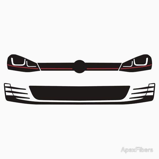 2015 Volkswagen Golf GTI Headlights and grill