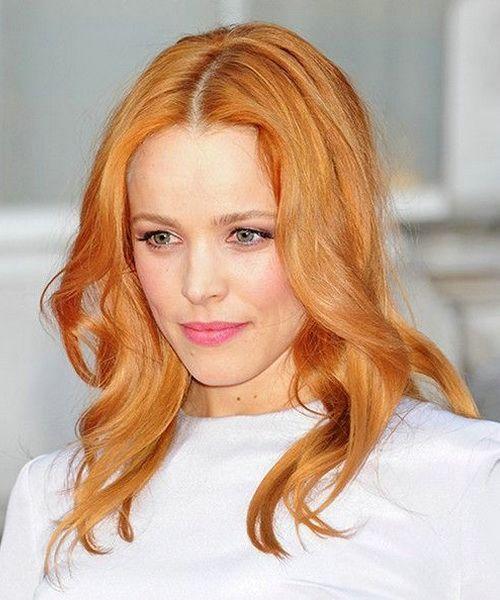 light red golden brown hair color