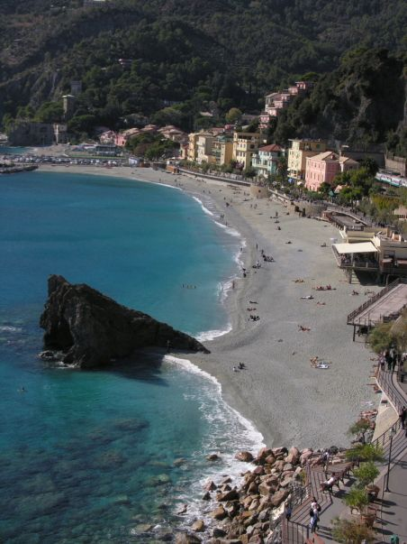 #Monterosso, Italy--I was in this exact spot!
