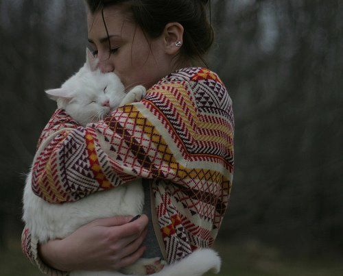 I know all about white cat snuggles and never wearing dark clothing again.