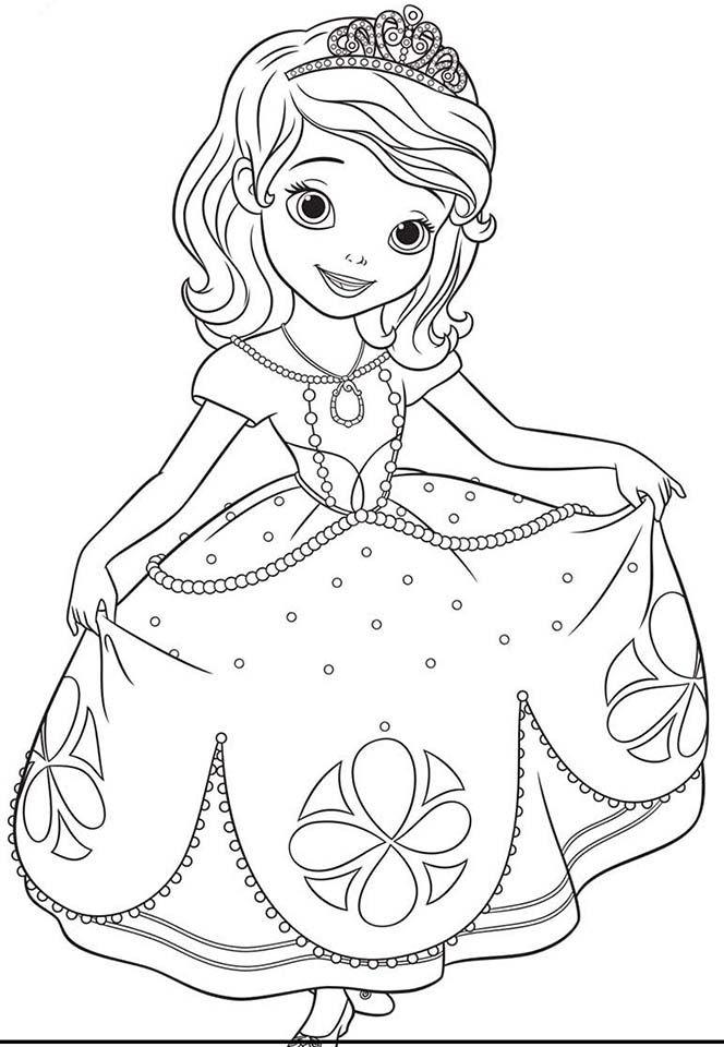 Princesa Sofia Princesa Sofia Para Colorir Desenhos Para
