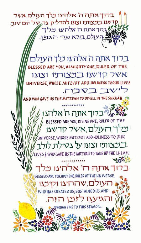 menu de rosh hashanah