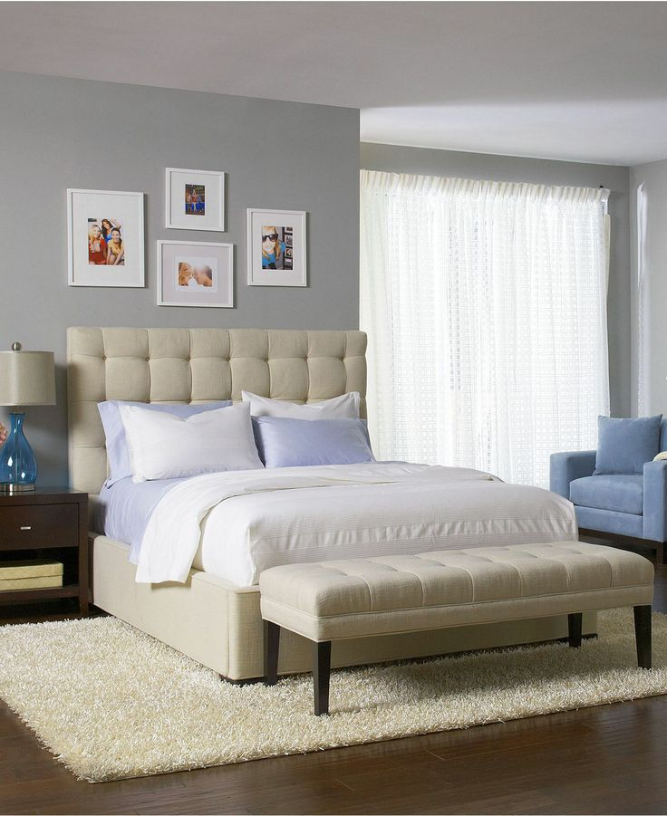 Roslyn Bedroom Furniture Set: Abby Upholstered Bedroom Furniture Collection, Created For