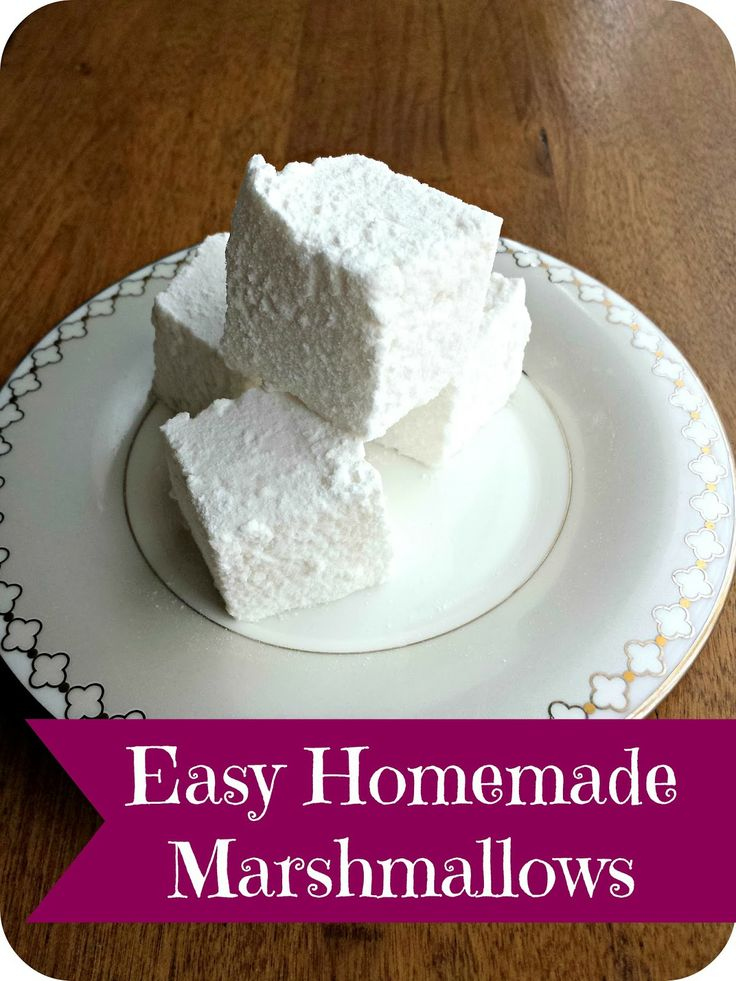 best 25 homemade marshmallows ideas on pinterest