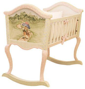 AFK Art for Kids Furniture Cradle Enchanted Forest traditional cribs