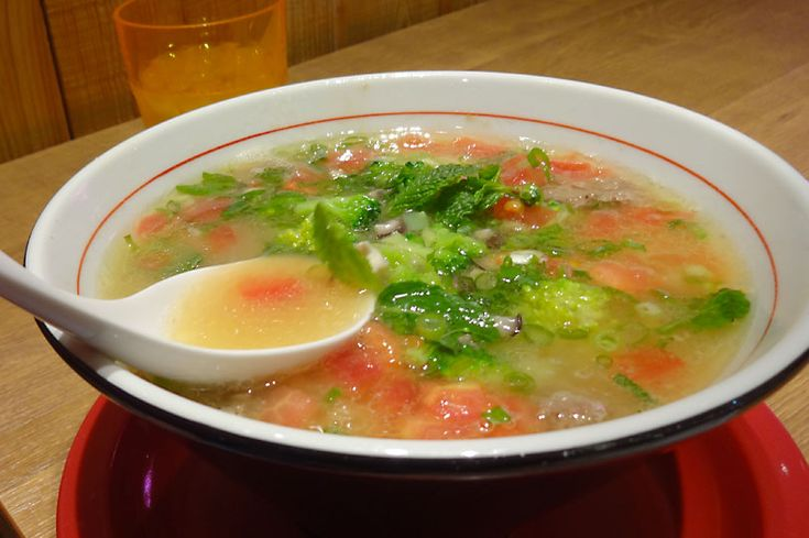 Vegetable ramen - a cheap and filling dish to try in Japan