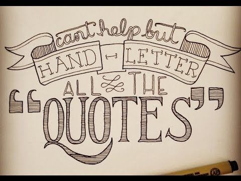 50 Top Resources For Learning Hand Lettering Hand