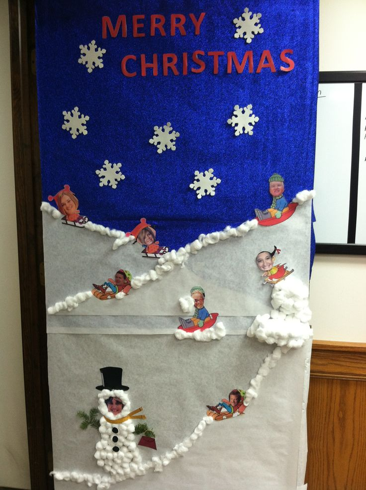 Sledding Elves Door Decorating Contest Kim Kiger