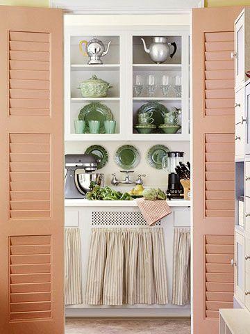 New Shutter Kitchen Cabinet Doors