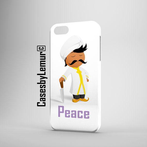Chef Peace Phone Case Cover Design Iphone 4 4s 5c 5 5s 6 6 Plus Samsung Galaxy s4 s4 mini s5 Matte Glossy Phone 3d Smartphone Case p
