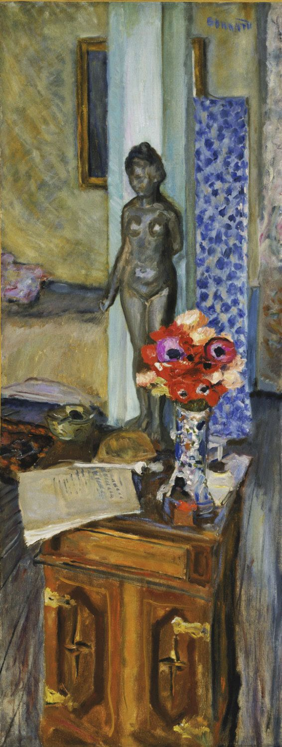 Pierre Bonnard, Homage to Malliol, oil on canvas, 1917, Philadelphia Museum of Art, Philadelphia, PA