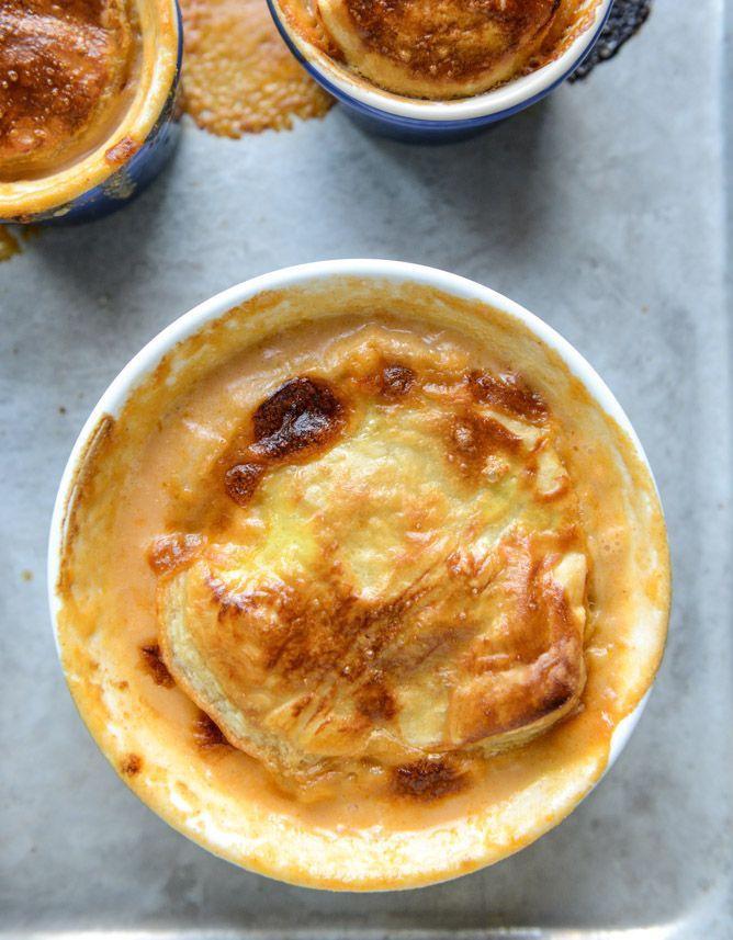 Lobster Bisque Pot Pies