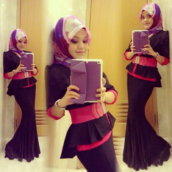 Elegant Hijab Dresses and Styles  c9bf9046df9511e2810822000aaa09c2 7