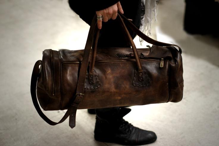 SANDAST Leather Vintage Bag