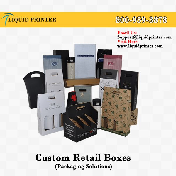 Custom Retail Boxes with full color printing service. We make #retailboxes in various sizes and shapes.