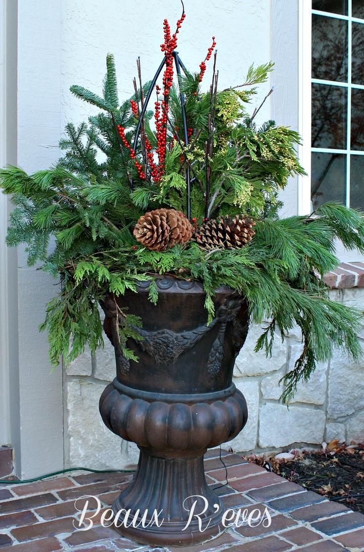 Front Porch Urn Ideas