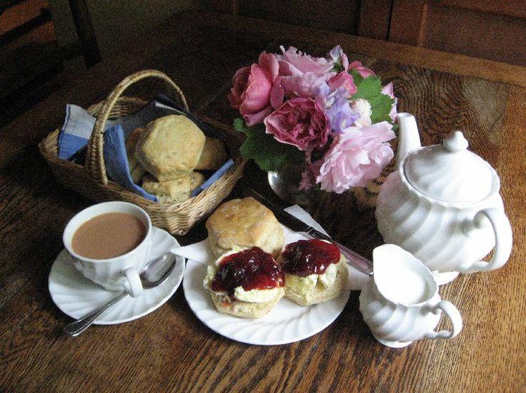 Creamed tea...unbelievably delicious! via Southhamsdarling
