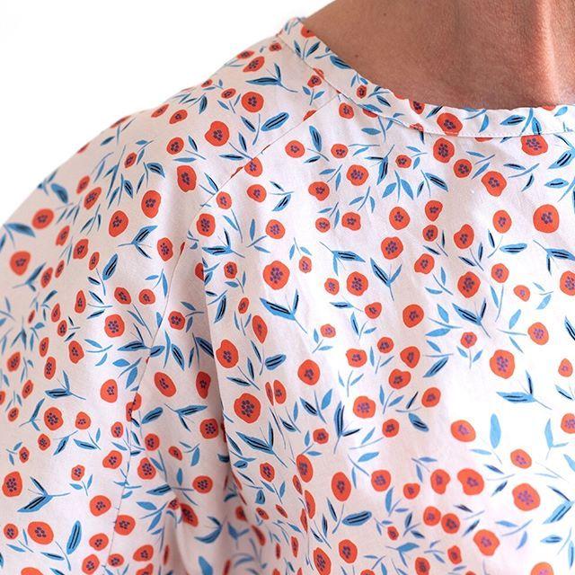 Werbung Wahrend Die Mohnblumen Auf Den Feldern Leuchten Habe Ich Endlich Diese Fotos Auf Meiner Festpl Blusen Fur Frauen Bluse Schnittmuster Kleidungsstuck