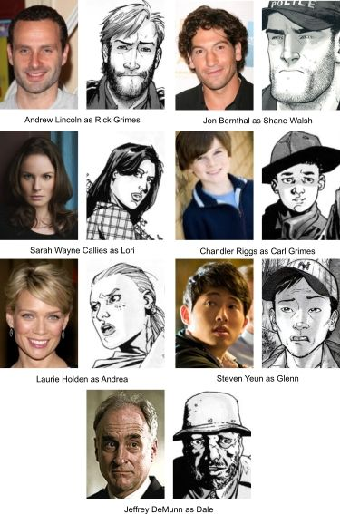 THE WALKING DEAD actors - See best of PHOTOS of the Zombie TV series http://www.wildsound-filmmaking-feedback-events.com/the_walking_dead.html